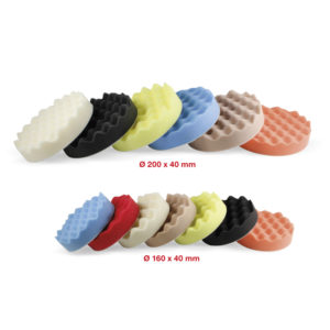 106 Corrugated polishing pad