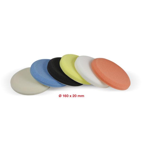 107 Smoothed polishing pad