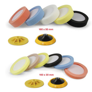 114M-N Smoothed polishing-pad with lodging