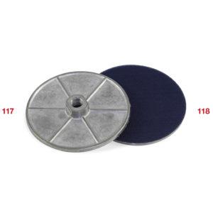 117-118 Aluminium flange