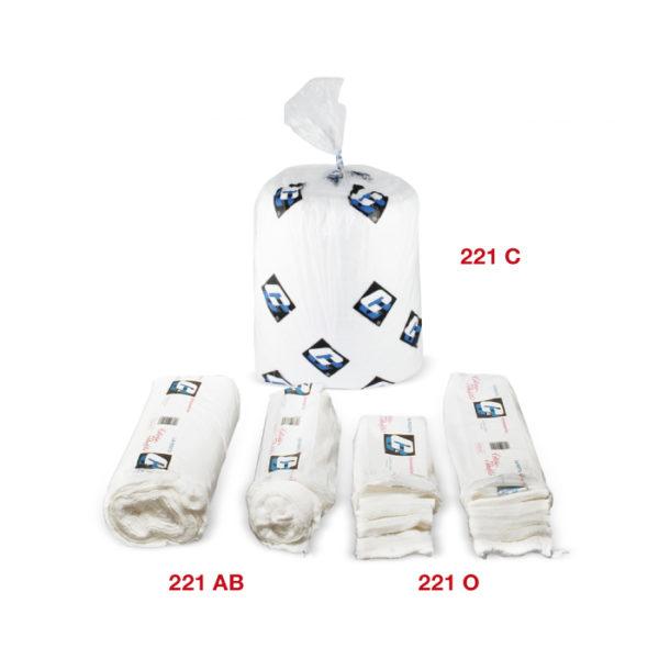 221 White industrial cotton