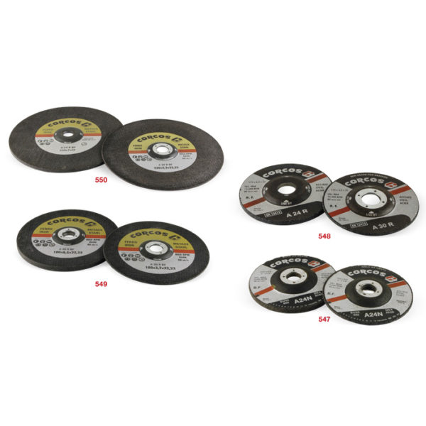 547-550 Deburring discs