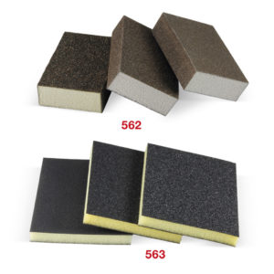 562-563 Abrasive sponges
