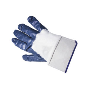 62 Nbr glove, areated back