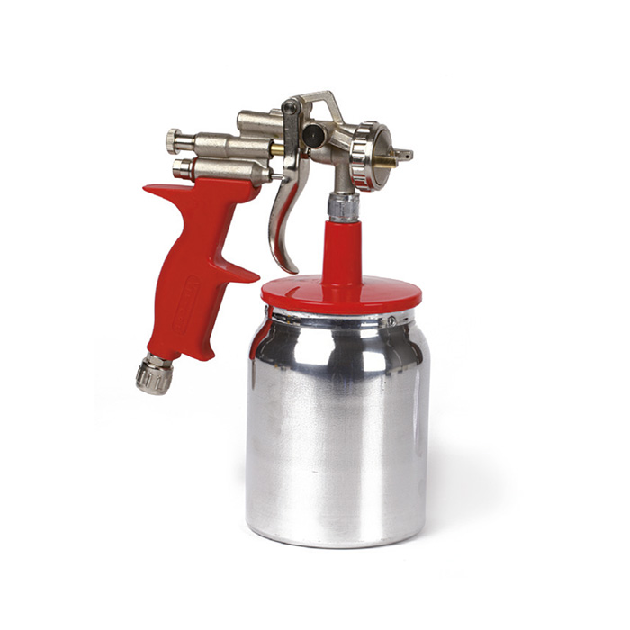 402 Red line suction spray-gun