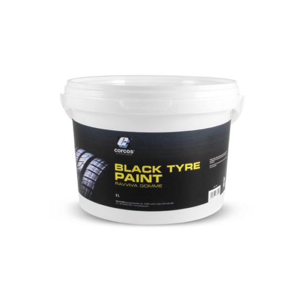 763 Black tyre paint